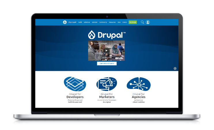 Meet our wild card - Drupal